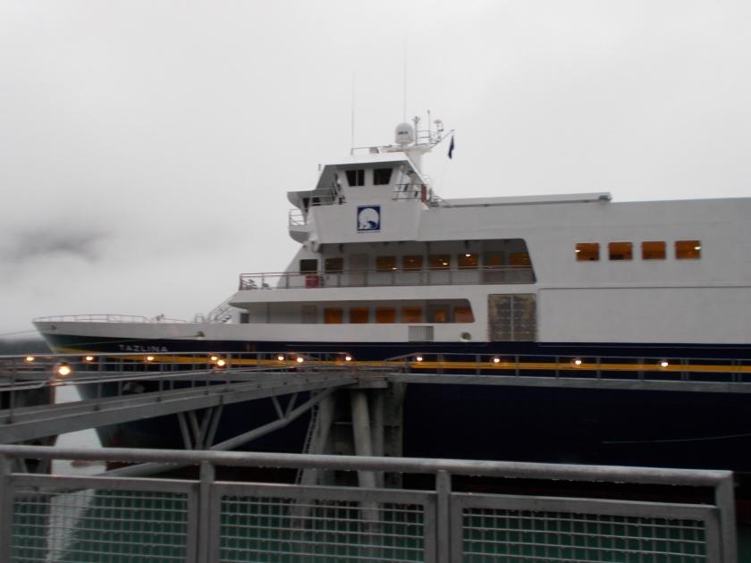 Ferry to Skagway